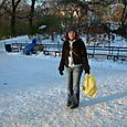 Ruth Maher in Central Park