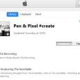 ITunes Pen Pixel Create