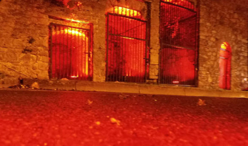 Red Gates at Zombie Walk