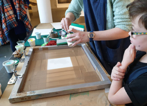 Aoife Barrett Print Workshop