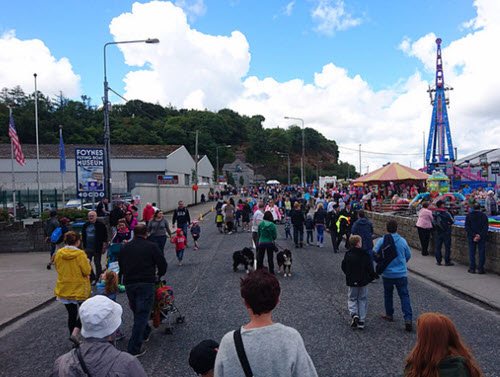 Walking to Foynes