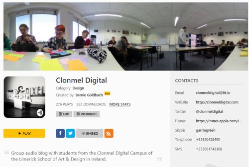 Spreaker Clonmel Digital
