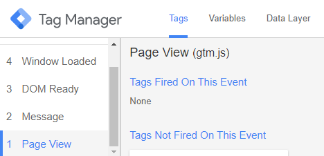 Google Tags Not Firing