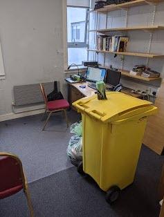 Eugenes Empty Office