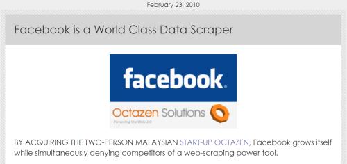 World Class Data Scraper