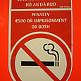 No smoking Ireland