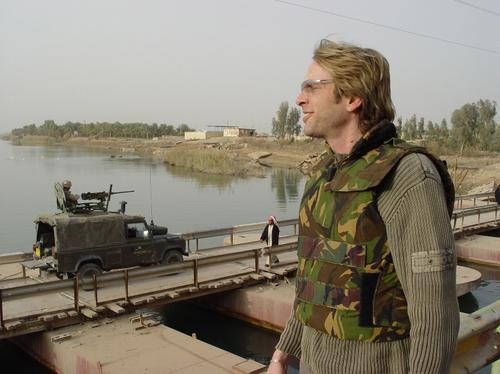 Adam Curry in Iraq