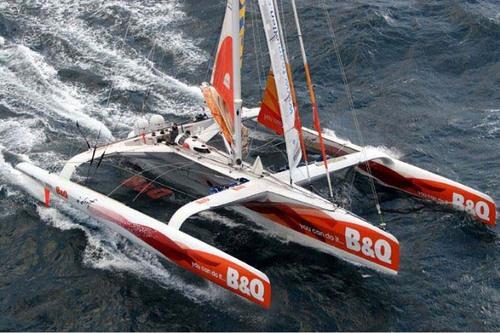 B&Q Boat of Ellen MacArthur