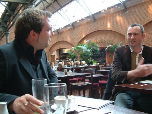 Dick O'Brien and Frank McGahon