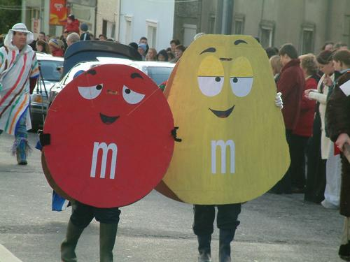 M&Ms in the Wellie Parade