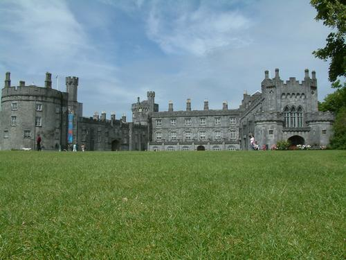 On the grass at Kilkenny Castle