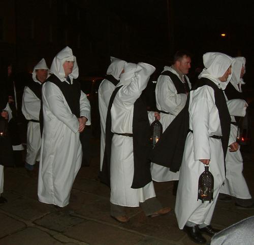 Duiske Abbey Monks in Procession