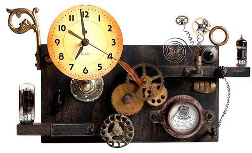 Jules Verne Clock
