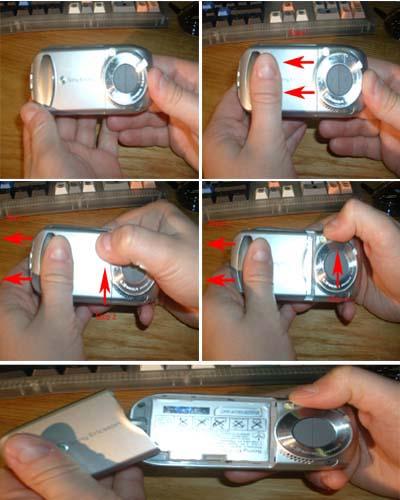 Opening Sony Ericsson S700i