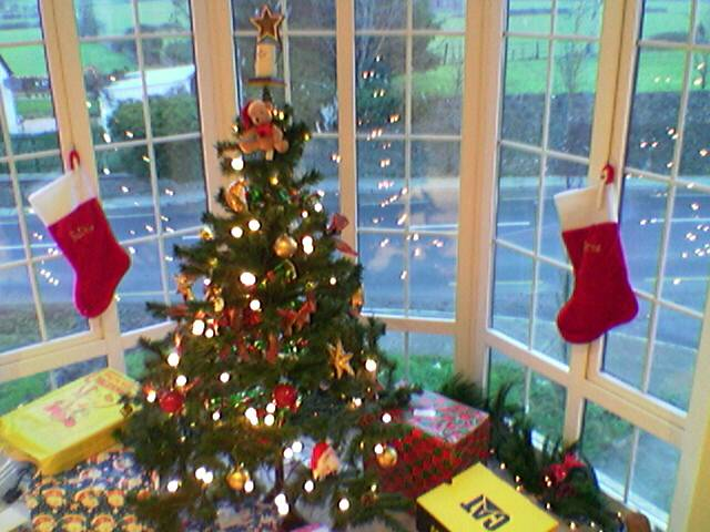 Presents all around